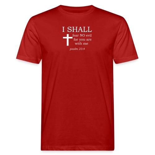 'I SHALL' t-shirt (white) - Men's Organic T-Shirt