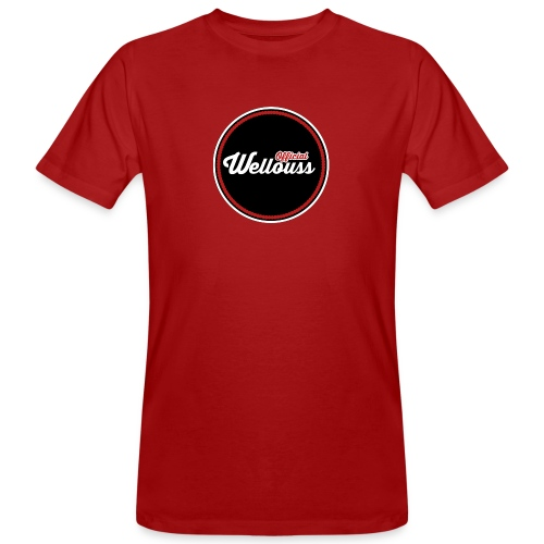 Wellouss Fan T-shirt | Rood - Mannen Bio-T-shirt