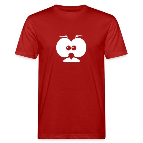 Curious Owl - Männer Bio-T-Shirt