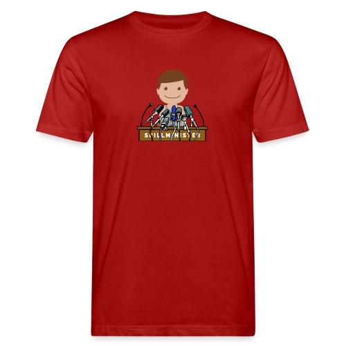 Spillminister logoen - Økologisk T-skjorte for menn