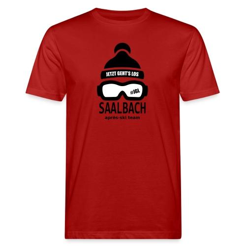 Après-ski team Saalbach - Mannen Bio-T-shirt