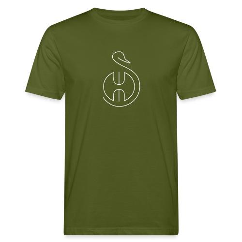 Logo white Swom - T-shirt bio Homme