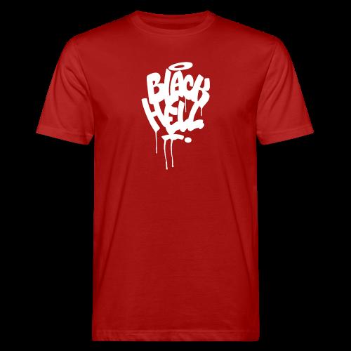 bombing-white - T-shirt ecologica da uomo