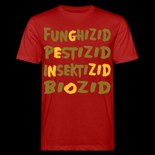 genozid - Männer Bio-T-Shirt