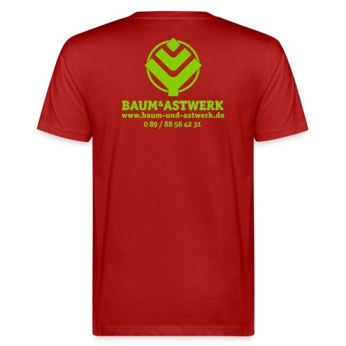 BaumAstwerkAdress multicolor 01 02 eps - Männer Bio-T-Shirt