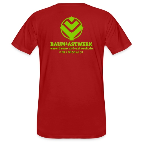 BaumAstwerkAdress multicolor 01 02 eps - Männer Bio-T-Shirt