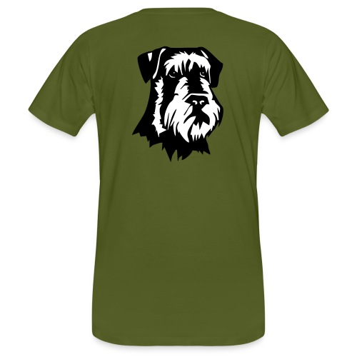 Riesensnautzer head - Miesten luonnonmukainen t-paita