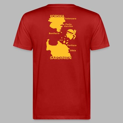 Korsika Sardinien Mori - Männer Bio-T-Shirt