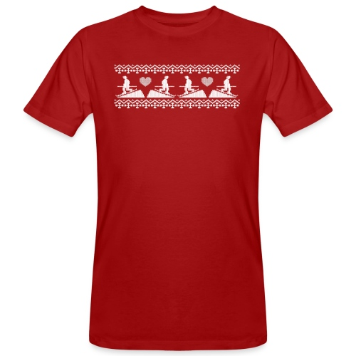 Telemark frise Scandinave white - T-shirt bio Homme