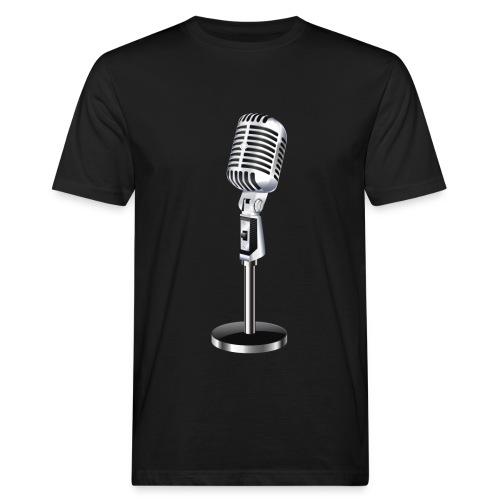 En Mikrofon T-Skjorte - Økologisk T-skjorte for menn