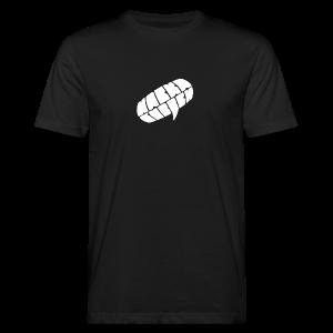 Nackagubben Logo White - Men's Organic T-shirt