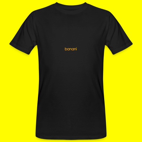 Banani-Schriftzug - Männer Bio-T-Shirt