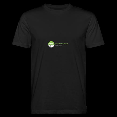 ElektroMobilitätsClub Logo - Männer Bio-T-Shirt