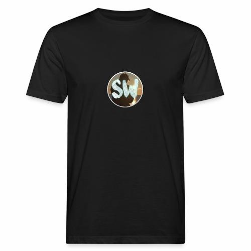 T-Shirts Rond StijnWolthuis logo - Mannen Bio-T-shirt