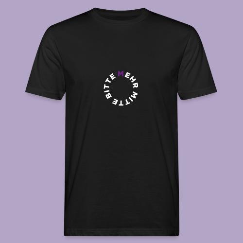 Mehr Mitte Bitte | Julius Raab Stiftung - Männer Bio-T-Shirt