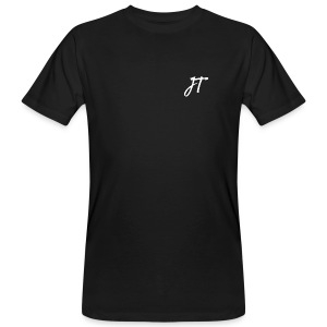 Embroided JT (Josh Trends) T-Shirt White - Men's Organic T-shirt