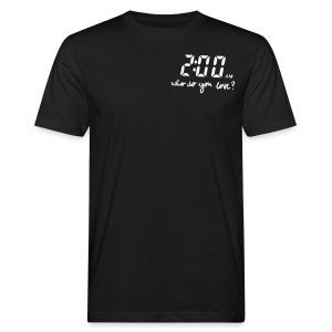 2 am / enchanted - Mannen Bio-T-shirt