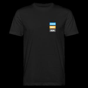 Triathlon Apparel: Swim Bike Run - Men's Organic T-shirt