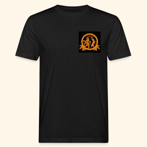 Logo black - Männer Bio-T-Shirt