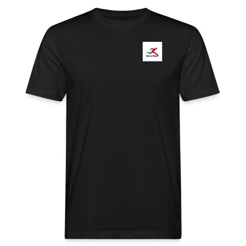 Run by Andrew Reid - Men's Organic T-Shirt