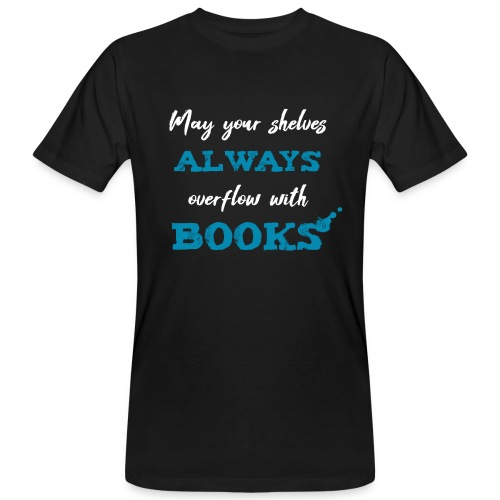 0038 author | Writer | Book blogger | reader - Men's Organic T-Shirt