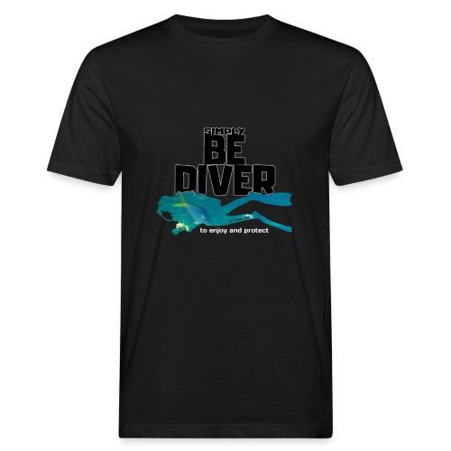 Be Diver 2 - Soutien à Sea Shepherd France - T-shirt bio Homme