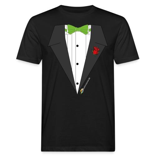 Gala Hero - Positivstarter Official Black Shirt - Männer Bio-T-Shirt