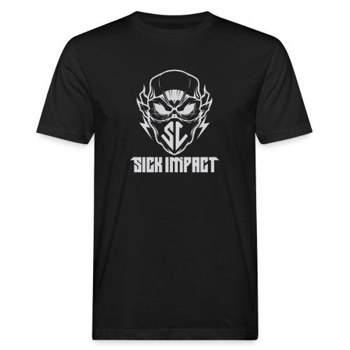 logo grey - Männer Bio-T-Shirt