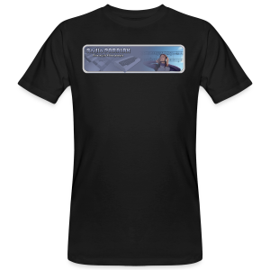 Radio PARALAX Classic-Logo - Männer Bio-T-Shirt