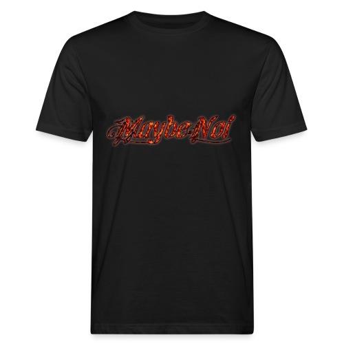 Premium Fire Logo - Männer Bio-T-Shirt
