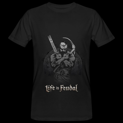 Life is Feudal Steam Badge 1 - T-shirt bio Homme