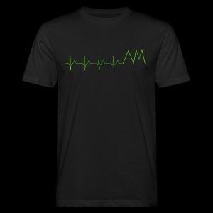 Art&MotionEKG - Männer Bio-T-Shirt