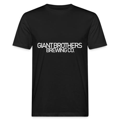 Giant Brothers Brewing co white - Ekologisk T-shirt herr