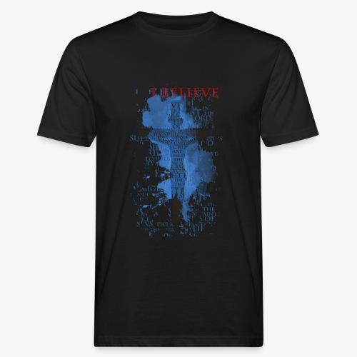 I believe / wierzę - Ekologiczna koszulka męska