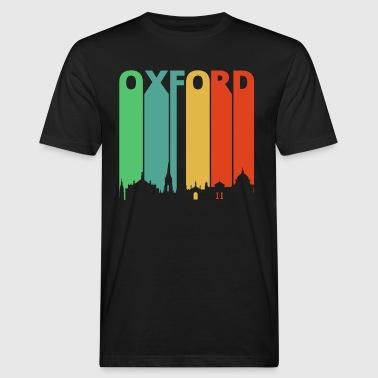 Vintage Retro Oxford. Skyline. Cityscape.England - Men's Organic T-shirt