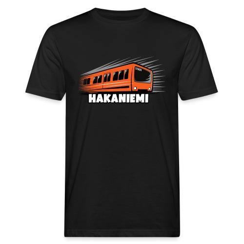 13- METRO HAKANIEMI - HELSINKI - LAHJATUOTTEET - Miesten luonnonmukainen t-paita