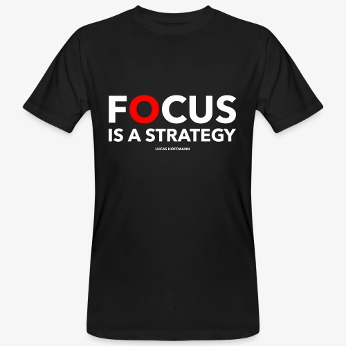 FOCUS - Männer Bio-T-Shirt