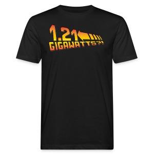 1.21 Gigawatts - Männer Bio-T-Shirt