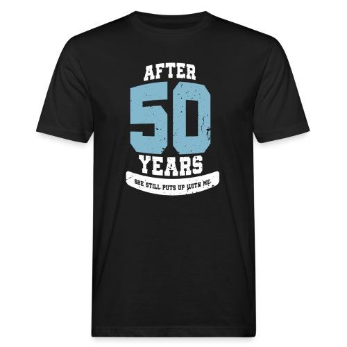 Ü50 Über 50 Jahre 50th - first - Männer Bio-T-Shirt