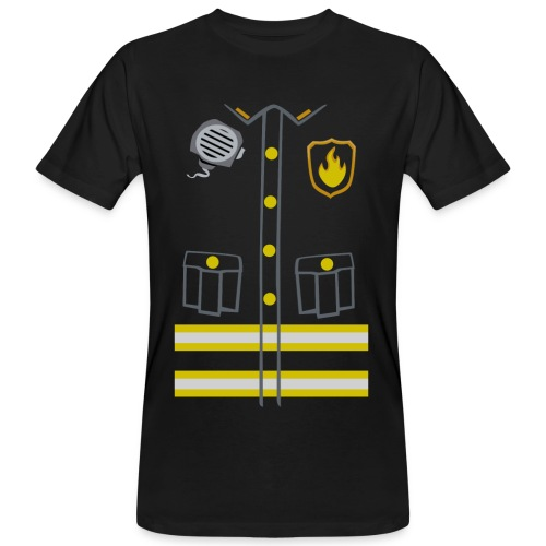 Fireman Costume - Dark edition - Men's Organic T-shirt