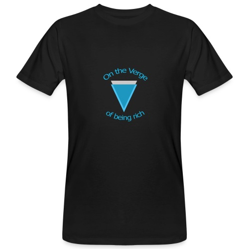 Verge met lijn - Mannen Bio-T-shirt