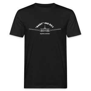 Daisy Blueprint Front 2 - Ekologisk T-shirt herr
