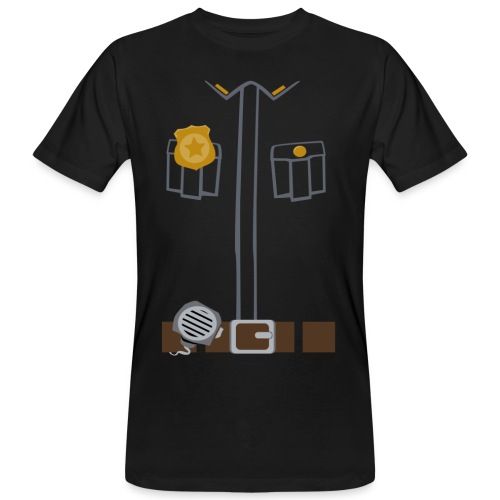 Police Tee Black edition - Men's Organic T-shirt