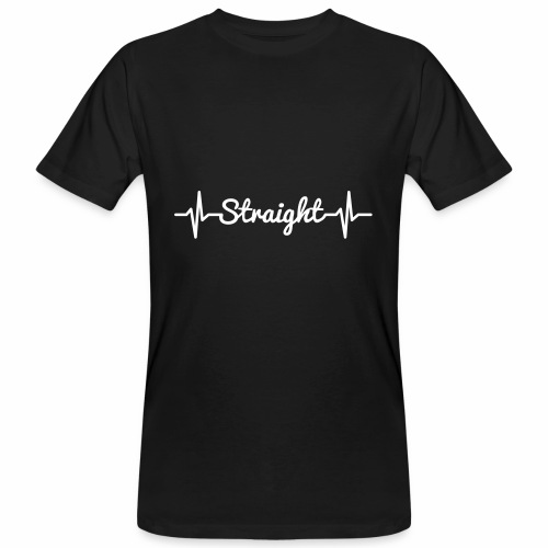Pulse Straight - Männer Bio-T-Shirt