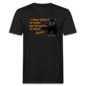 Luther-Zitat - Männer Bio-T-Shirt
