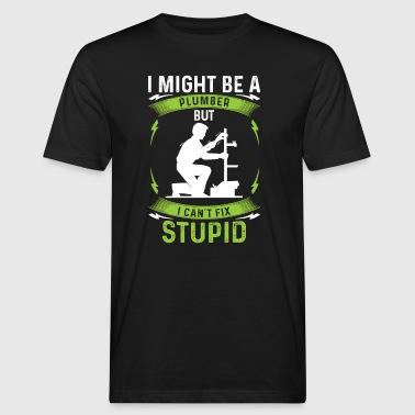 installatore Idraulici -Plumber- - regalo - T-shirt ecologica da uomo
