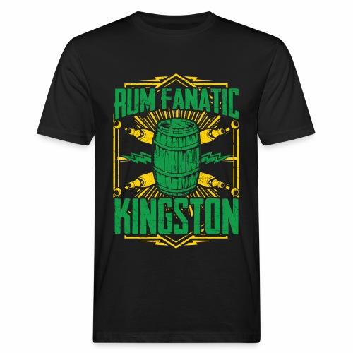 T-shirt Rum Fanatic - Kingston, Jamajka - Ekologiczna koszulka męska