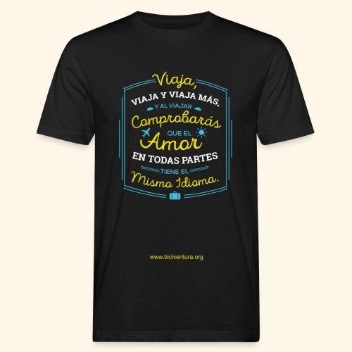 VIAJA - Camiseta ecológica hombre