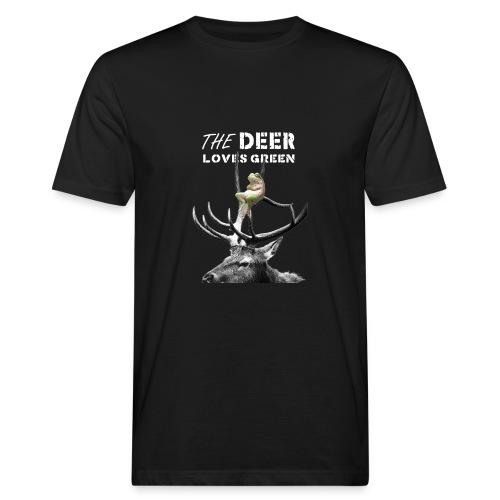 deer - Mannen Bio-T-shirt