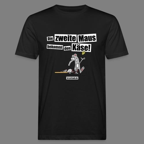 Die zweite Maus - Männer Bio-T-Shirt